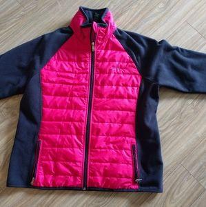 Ralph Lauren polar fleece jacket.